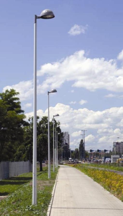 1-3 - Mâts CC droits Ø base 146, hauteur de 6 à 8m